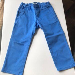 Armani Junior blue pant size 2